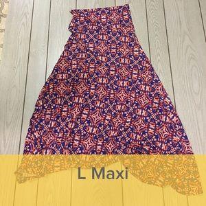 LuLaRoe Skirts - NWT L LuLaroe Maxi